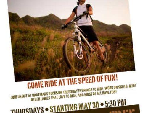 Ladies Rides! UPDATED