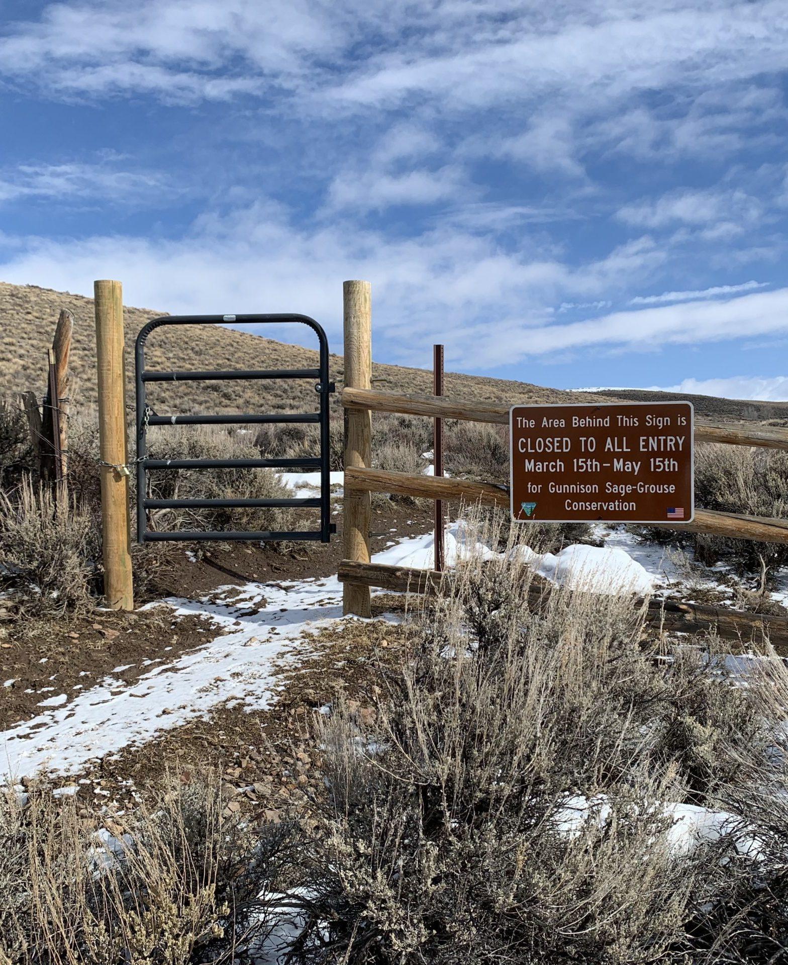 Spring Trail Closures Begin March 15