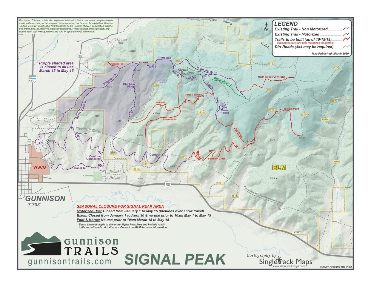 Signal Peak Map
