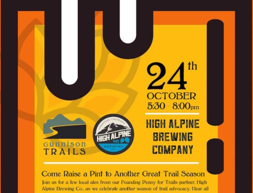 ALES FOR TRAILS Thursday, Oct. 24th at High Alpine Brewing Co.