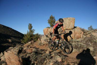 Tailpipe Trail at Hartman Rocks.