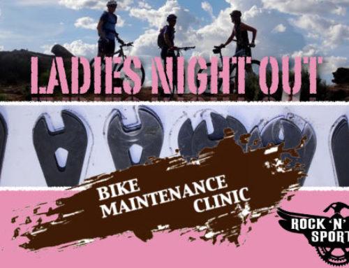 Ladies Night Out Bike Maintenance Clinic July 1st @ 5pm