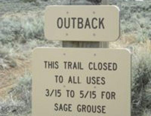 Spring Trail Closures